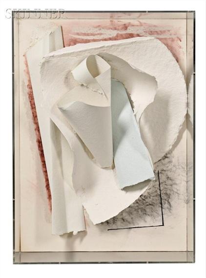 Anthony Caro - Paper Sculpture No. 27 (Box Tree)