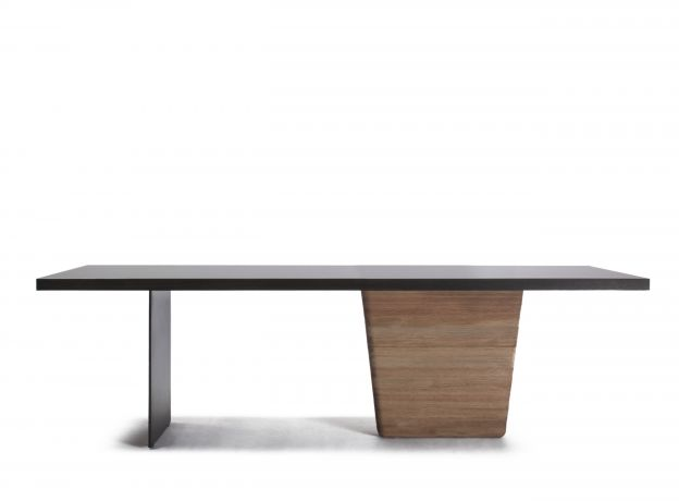 Jiun Ho ○ Osomo Table  We love the entire collection but this dining table rocks!