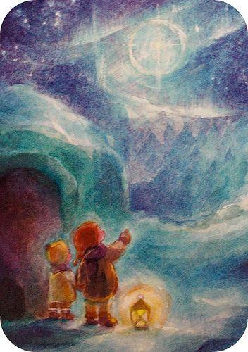 happy winter solstice by waldorf mama, via Flickr