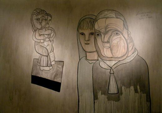 Jose Luis Cuevas / Obras-Acrílicos