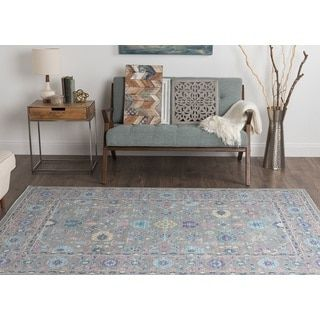 Shop for Alise Rugs Heritance Grey Traditional Area Rug (5'3 x 8'). Get free shipping at Overstock.com - Your Online Home Decor Outlet Store! Get 5% in rewards with Club O!