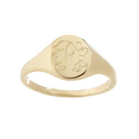 Petite Signet Ring | Mark and Graham
