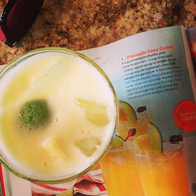 Pineapple-Lime Cooler Drink Recipe (via Rachel Ray!) #yum