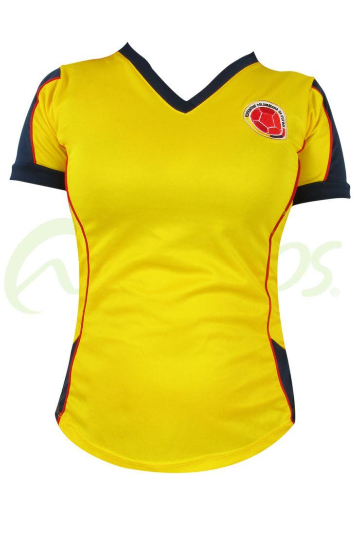 Camiseta Selecci�n Colombia Dama 270116