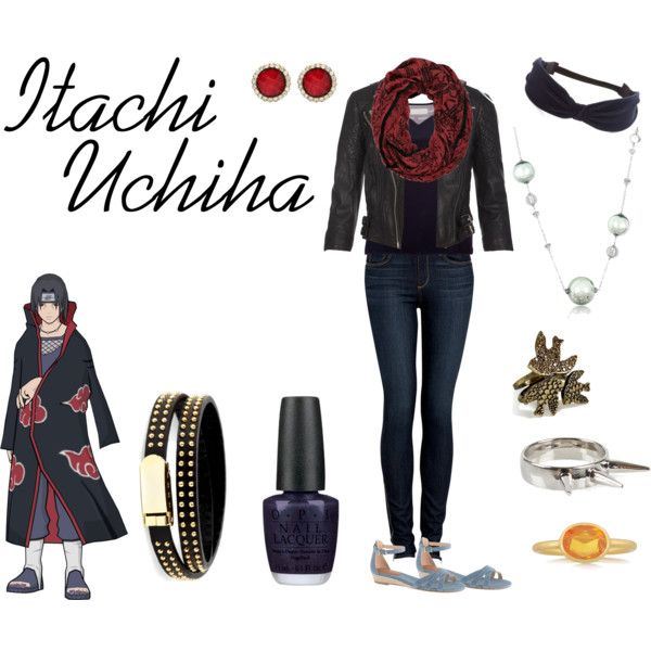 """Itachi Uchiha"" by casualanime on Polyvore"