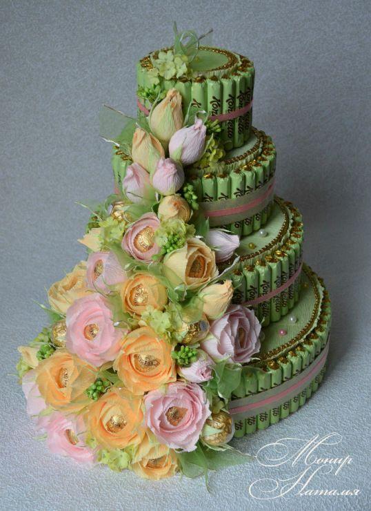 Gallery.ru / Фото #120 - Тортики из конфет - monier
