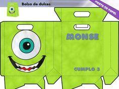 Kit Imprimible Y Editable Monsters Inc. (boo) Invitaciones                                                                                                                                                     Más