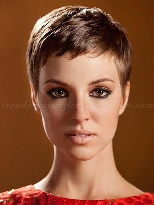 Pixie cut hairstyle can dramatically make you look younger as this hairstyle is the shortest. Description from karolynna.com. I searched for this on bing.com/images