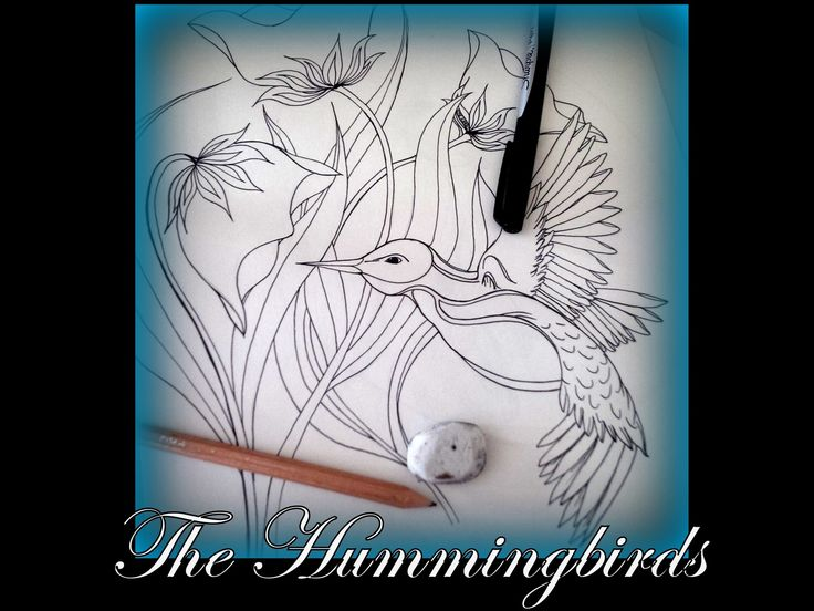 Come color and bring a hummingbird to life! A tribute to these little wonders of elegance, and beauty. Brought to you in high quality.