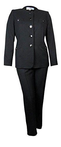 Le Suit Women's Scoop Neck Crepe Tuscany Pant Suit (6P, Black) Le Suit http://www.amazon.com/dp/B0106BTE2W/ref=cm_sw_r_pi_dp_4qy8vb1PHTNGB