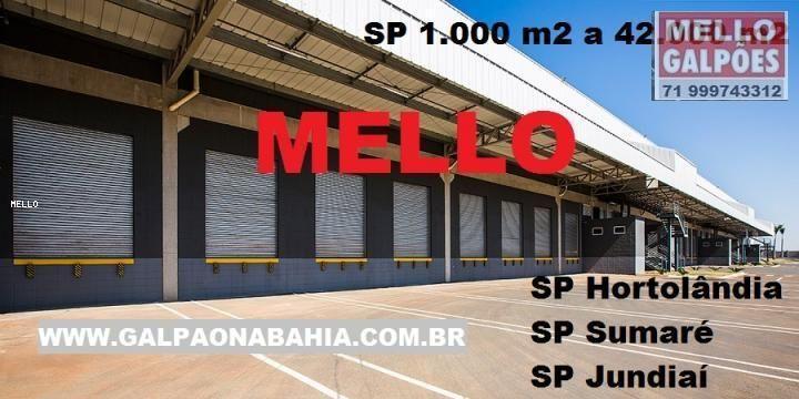 Galpão para Locação, Hortolândia / SP, bairro Centro