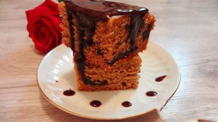 Удивительный диетический пирог, для приготовления которого не требуется яиц и масла!