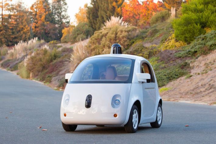 Google has just unveiled their first 'complete' prototype of the self-driving car. They've had many unfinished test cars in the past, but they've finally put all of their resources together to create and all-around self-driving car prototype.