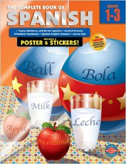 The Complete Book of Spanish provides 352 pages of fun exercises that help students become comfortable with the vocabulary for things they encounter every day, while also reinforcing foreign language confidence!