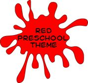 Red is the color of love. During February, with Valentine's Day, you can have a lot of fun in your preschool celebrating the color red with these activities.