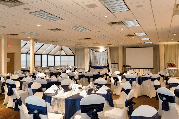 Islandview Ballroom. Decor by MT's Wedding Design and photo by Niche Photography