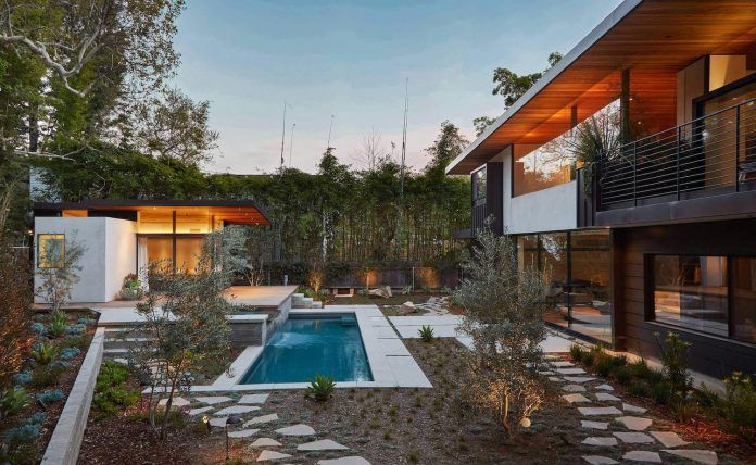 Contemporary Yee House situated in a forrest area of Mandeville Canyon, California - CAANdesign | Architecture and home design blog