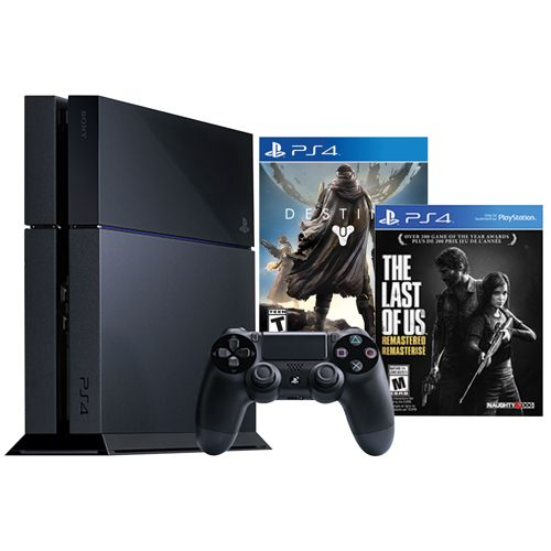 PlayStation 4 500GB The Last of Us Remastered Bundle With Destiny : PlayStation 4 Consoles - Best Buy Canada