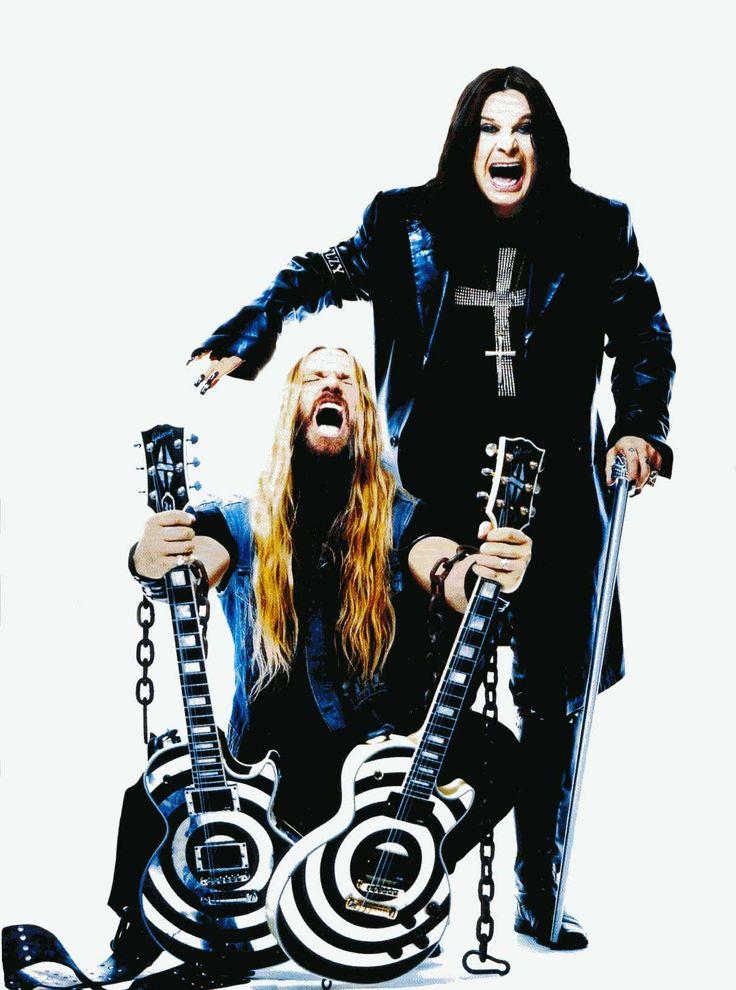 Zakk Wylde & Ozzy Osbourne.