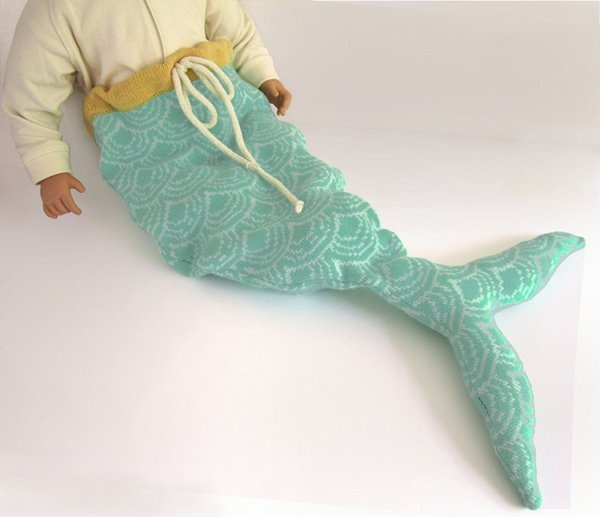 Mermaid Tail - buy one from The Miniature Knit Shop, on ETSY