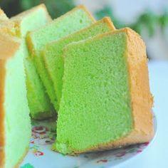Pandan cake - the yummiest thing ever!