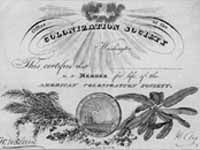 American Colonization Society (Prints and Photographs Reading Room, Library of Congress)