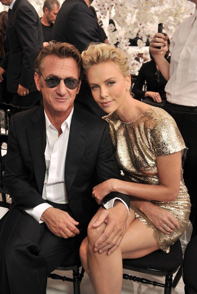 Sean Penn and Charlize Theron [Photo by Stéphane Feugère]