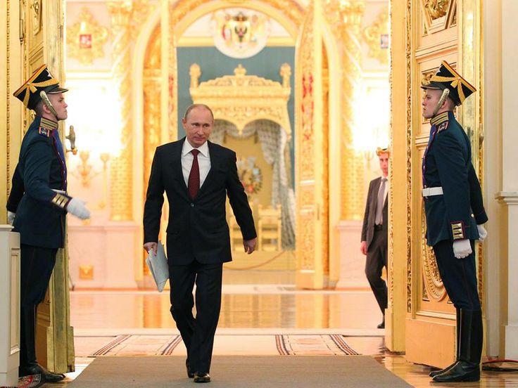 Кремль. Владимир Путин.