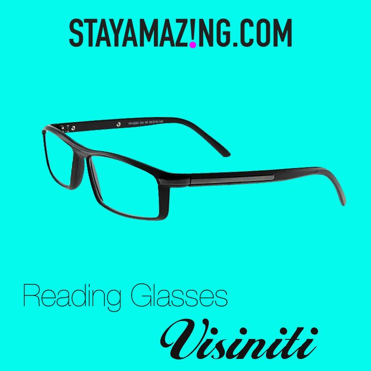 Stylish reading glasses starting at only 25$! Visit stayamazing.com for more deals! https://stayamazing.com/Accessoires/Glasses/Visiniti-Reading-Glasses