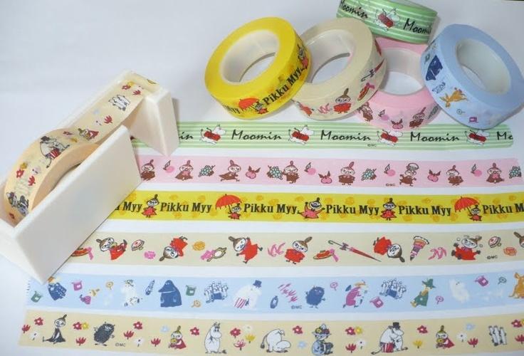 Du masking tape Moomins !!!