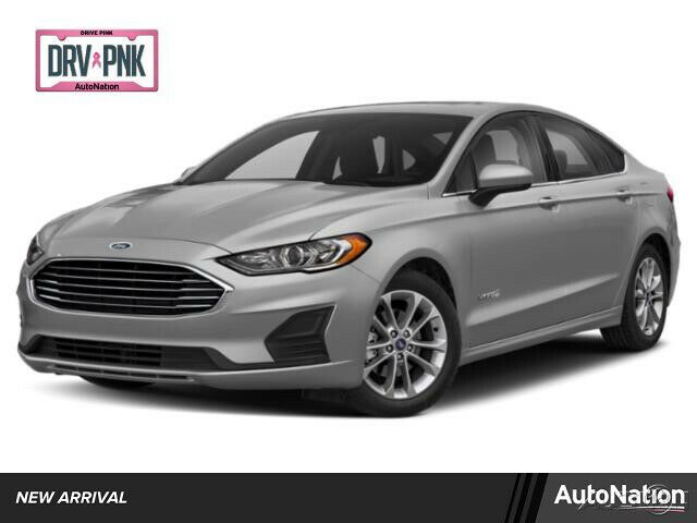 2020 Ford Fusion Sel 2020 Ford Fusion Hybrid Sel Front Wheel Drive