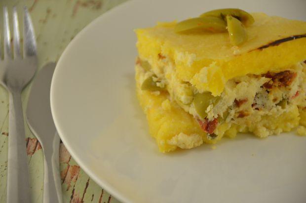 Budín de polenta / Polenta pie