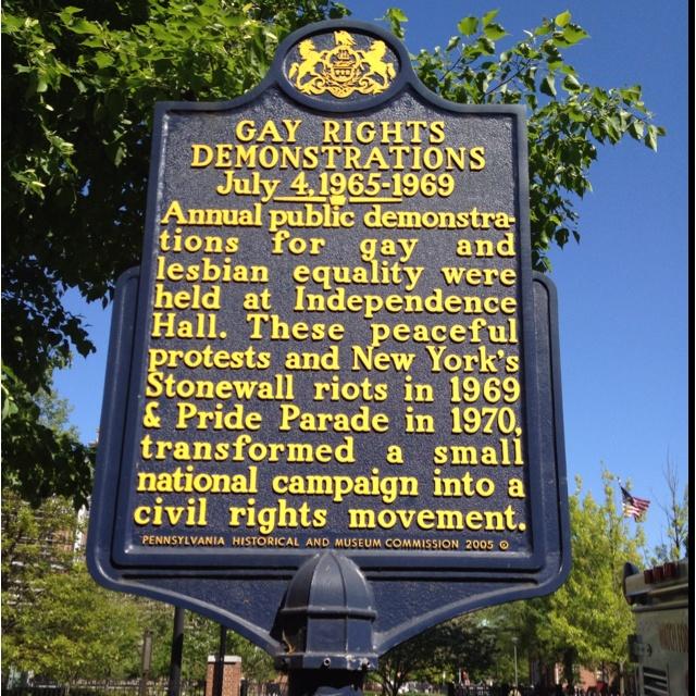gay rights signs