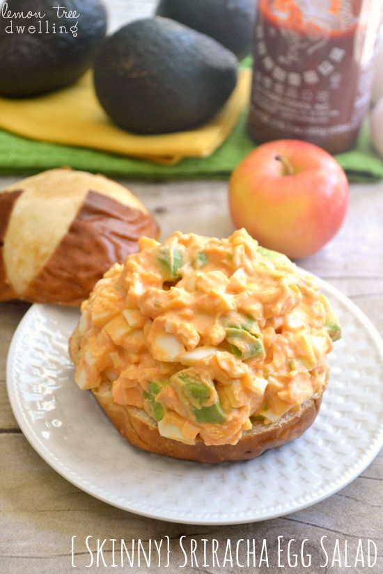 ... ) Sriracha Egg Salad | Recipe | Egg Salad, Skinny Recipes and Salad