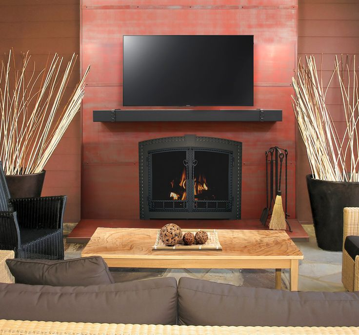 Enhance The Beauty And Functionality Of Any Fireplace Design Increase Safety Efficiency With Gl Doorsfireplace