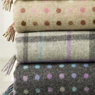 Bronte Soft Merino Lambs Wool Throws - Totally Essential