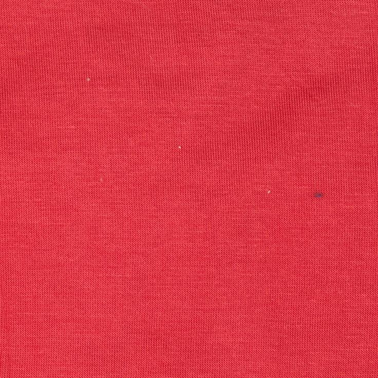 Stretch Rayon Lycra Jersey Knit Dark Salmon from @fabricdotcom  This stretch rayon blend blend jersey knit fabric has an ultra soft hand, fluid drape and features four way stretch. With 50% stretch across the grain and 25% vertical stretch, this jersey knit is perfect for leggings, form fitting tops, T-shirts, gathered skirts and fuller dresses.