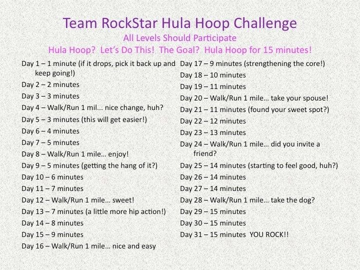 """Hula hoop challenge This is great for all my friends who think they """"can't hoop """""""