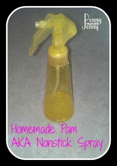 Homemade Nonstick Spray! Replace Your Pam Frugally!