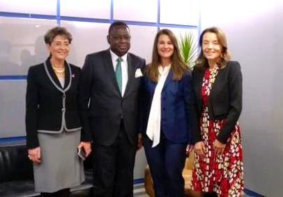 Mercedes Juan y Melinda Gates conversan sobre la Iniciativa Salud Mesoamérica 2015 - http://plenilunia.com/salud-reproductiva/mercedes-juan-y-melinda-gates-conversan-sobre-la-iniciativa-salud-mesoamerica-2015/37686/