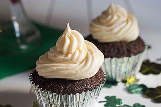 Irish Car Bomb Cupcakes by LittleRedKitchen, via Flickr