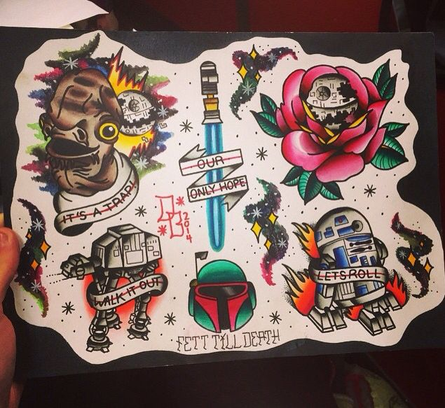 228 best images about Inked Star Wars on Pinterest | Flash ...