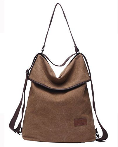 32129cff6 Pin by Women's Fashion Shopper Shop on WOMEN'S BAGS | Backpack purse, Canvas  backpack, Rucksack backpack