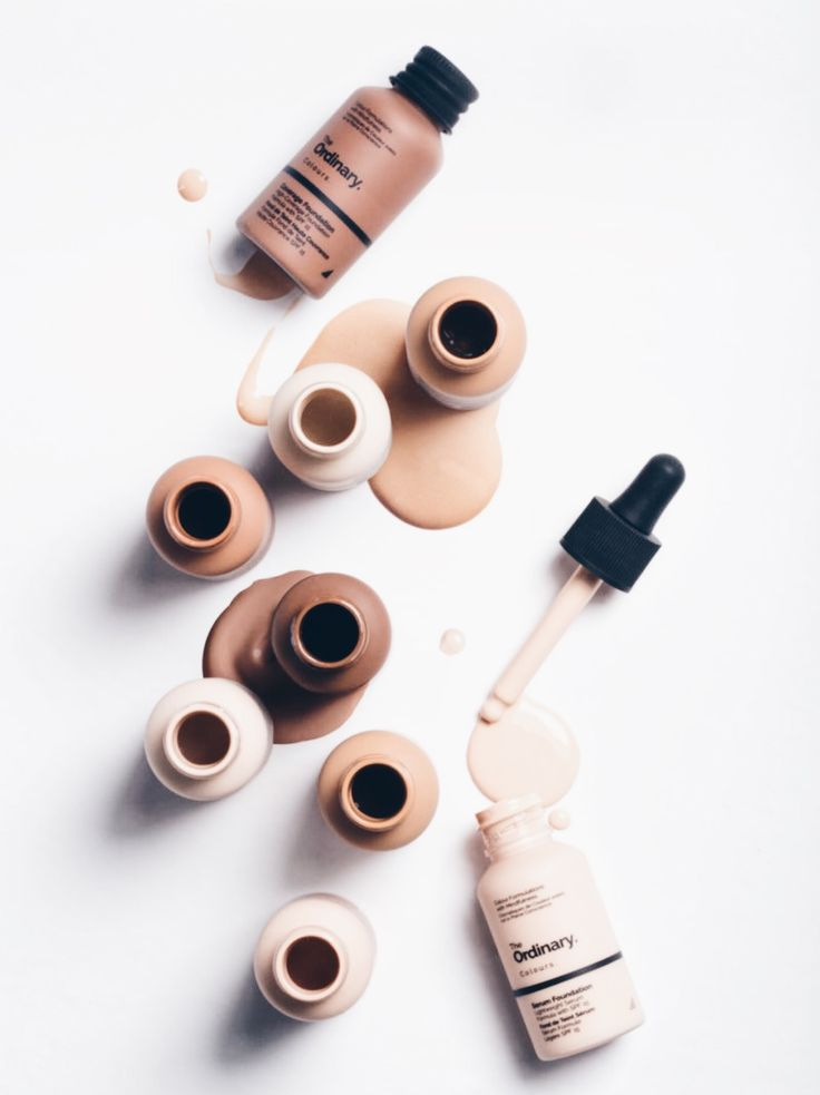 The Ordinary Colours new Serum Foundation and High Coverage Foundation