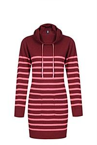 STRIPE KNITWEAR DRESS