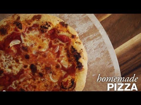 Homemade Pizza--You can make a pretty fantastic pizza at home without a wood-fired oven!