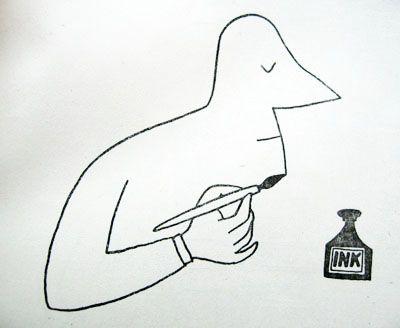 Saul Steinberg - Self Portrait. dd