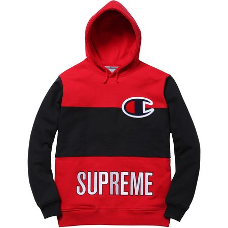 Supreme Champion 174 Color Blocked Pullover Supreme