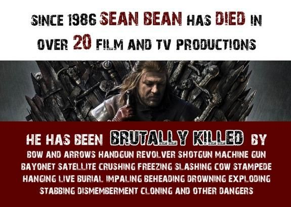 meme, ways Sean Bean dies