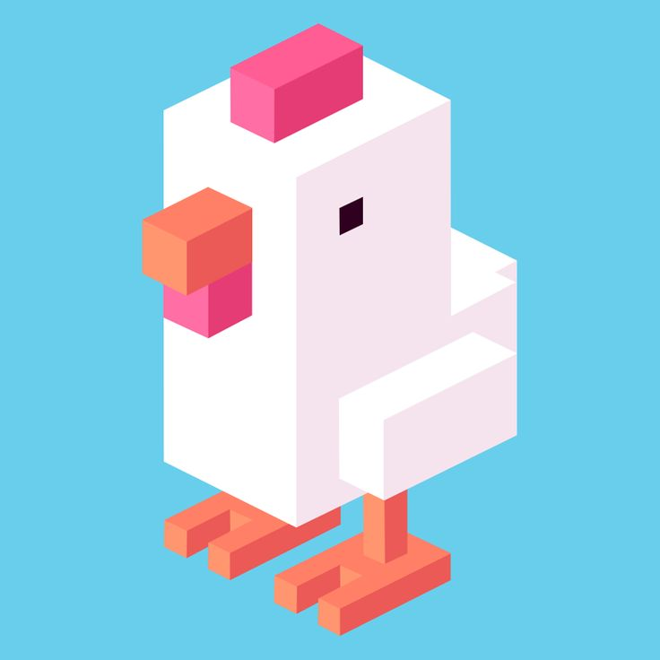 Crossy Road Chicken Logo